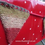 knitted bunting