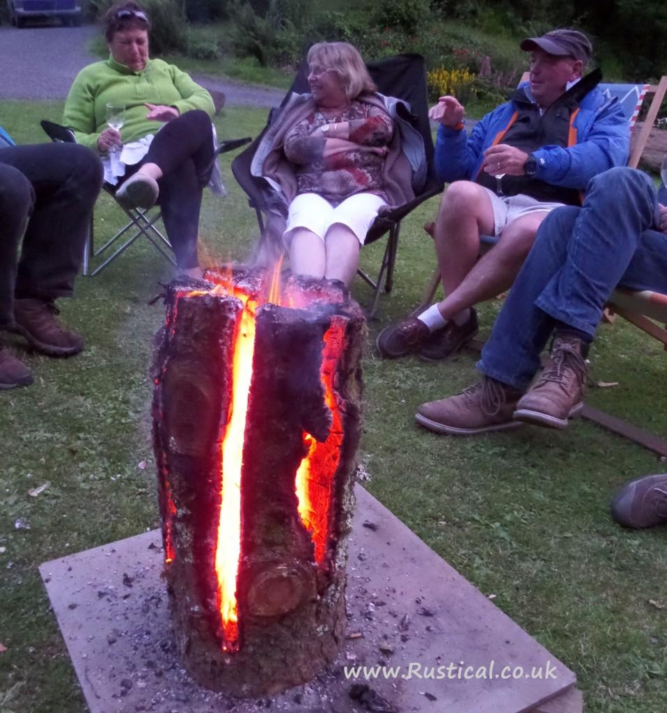 Fire Dragon Swedish Candle