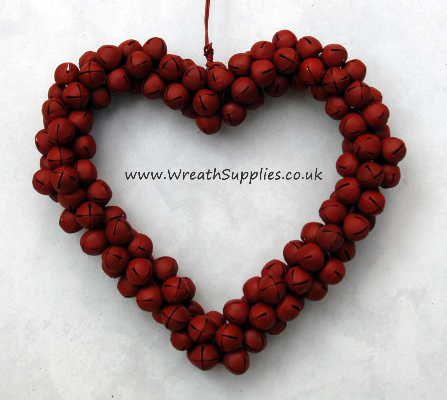 !0cm Red Jingle Bell Hearts for sale