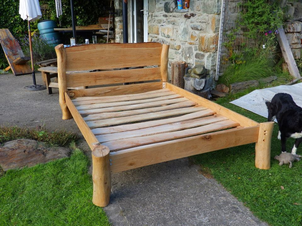 the final test assembly of the Rustic Bed