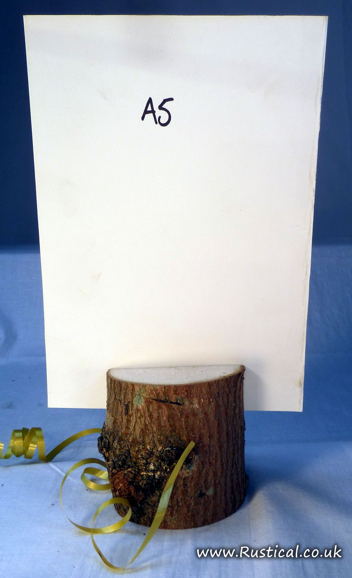 Rustic table number / menu holders for Restaurants, Cafe and Wedding Tables