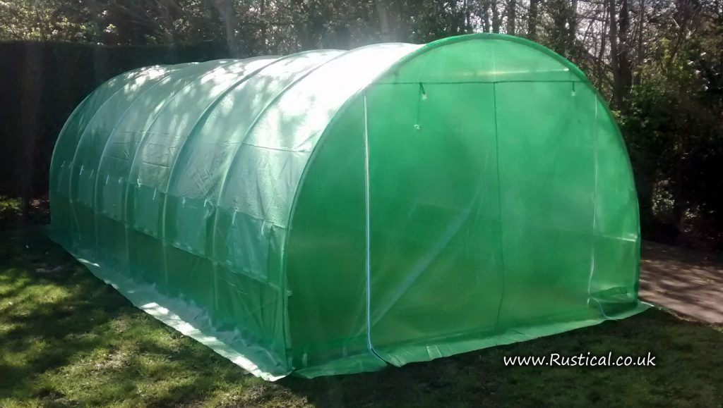 6m x 3m Polytunnel Sheeted