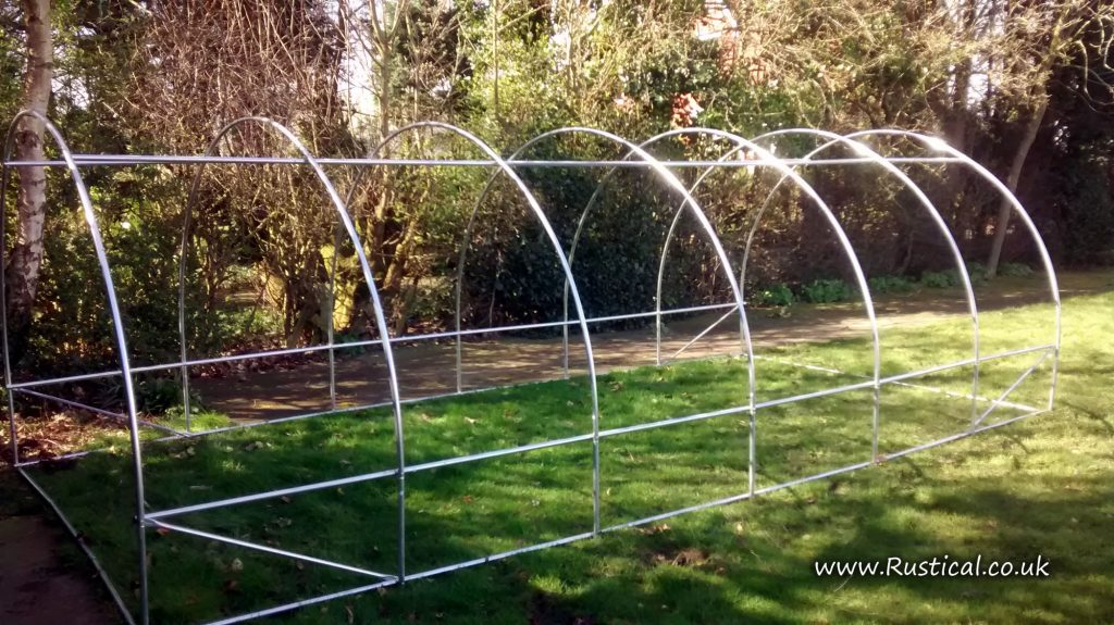 Domestic 6m x 3m Polytunnel Frame