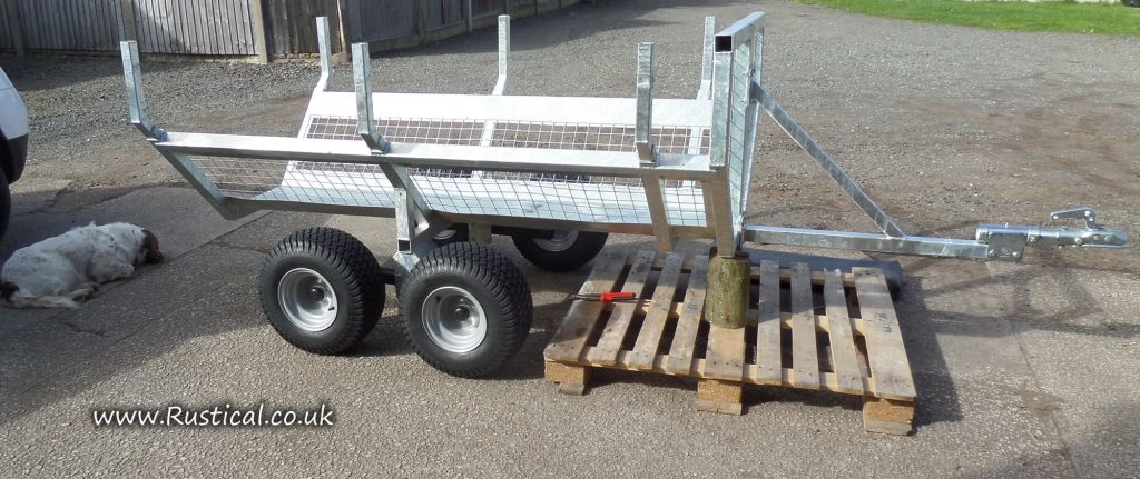 Our new Log Trailer