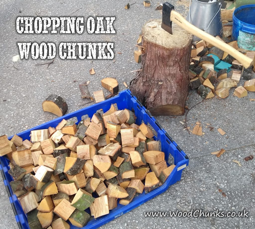 Making Oak Wood Chunks