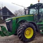 John Deere 8260R on Farm Geil, Harthausen