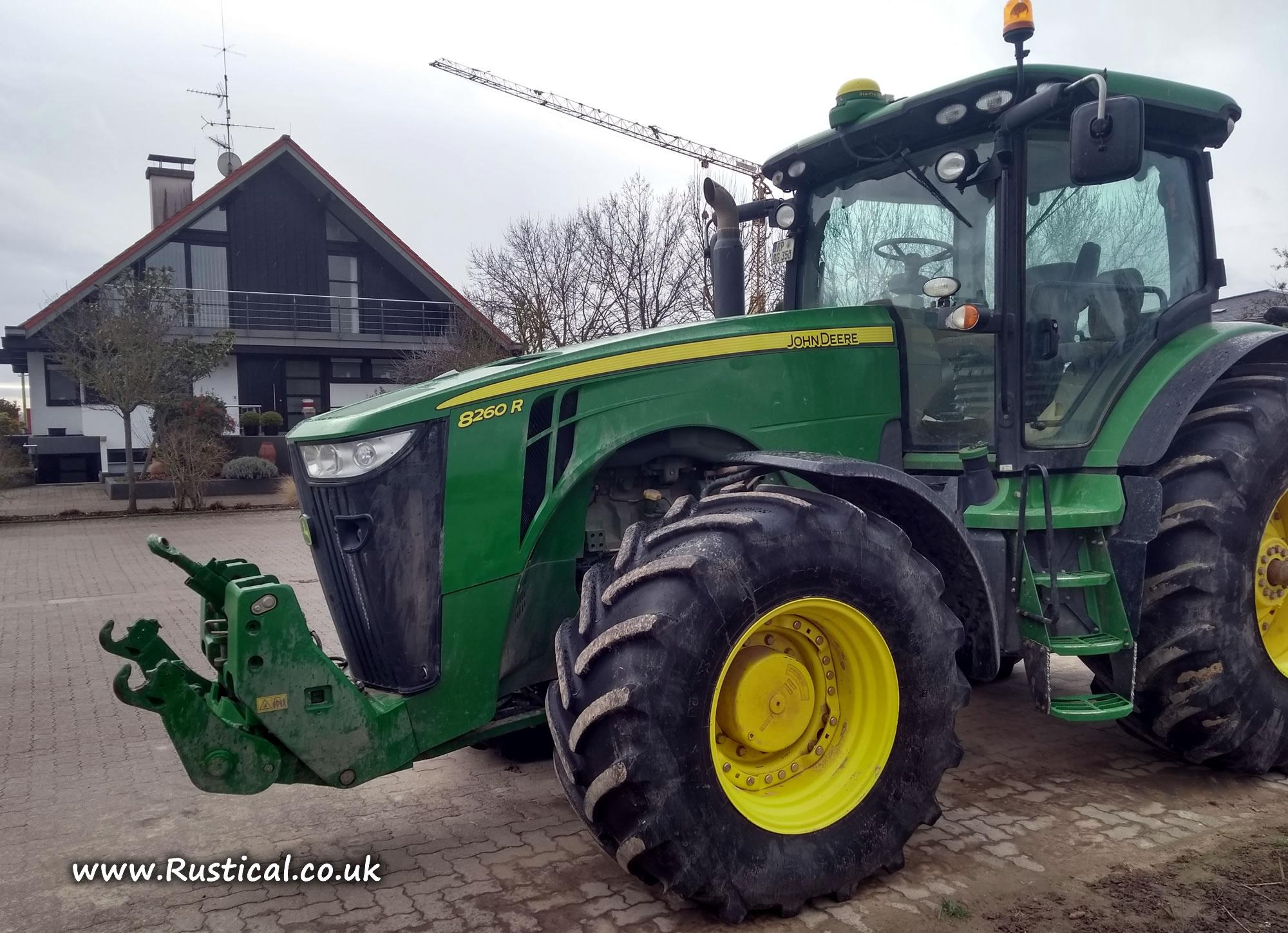 John Deere 8260R on Farm Geil, Harthausen