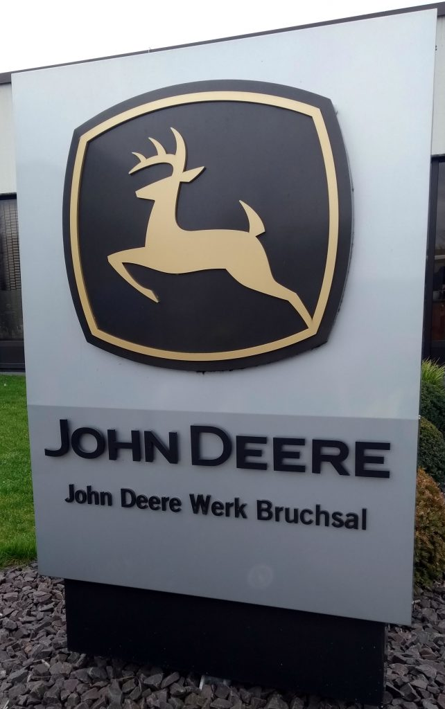 The John Deere cab factory at Bruschal