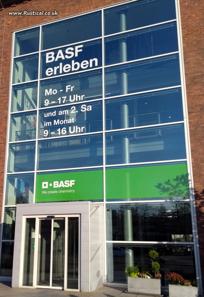 The BASF Visitor Centre at Ludwigshafen
