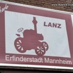 Charles Lanz bulldog tractors were made at the Mannheim site